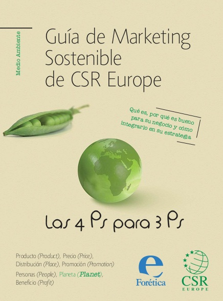 Guía de marketing sostenible de CSR Europe. Las 4 Ps para 3 Ps